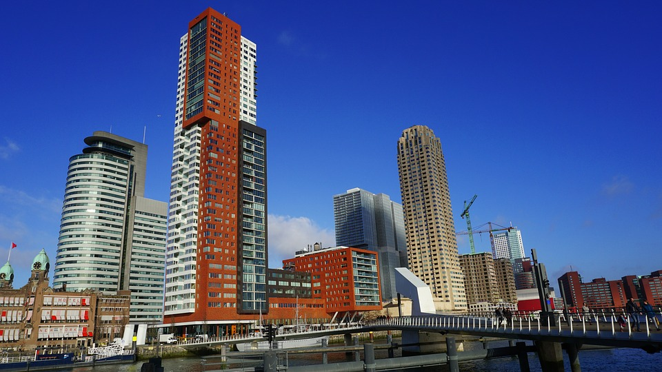 Tower Luxor Architecture City Rotterdam Buildings 1971356