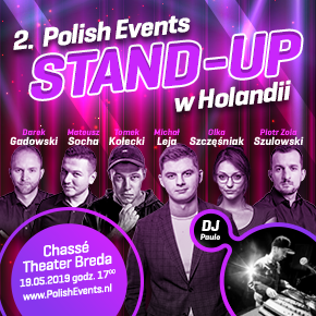 2. PolishEvents Stand-Up w Holandii e4
